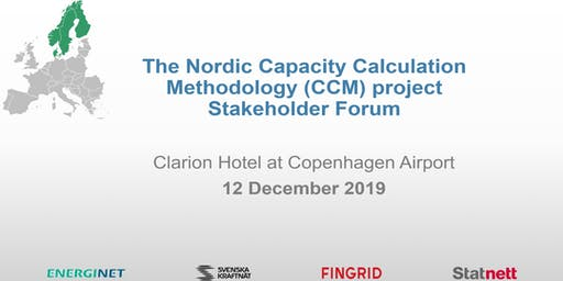 Nordic CCM (Capacity Calculation Methodology) Stakeholder Forum 2019