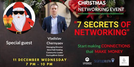 Christmas Event - 7 Secrets of Networking