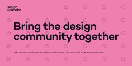 Design Calendar — Bring the design community together tickets