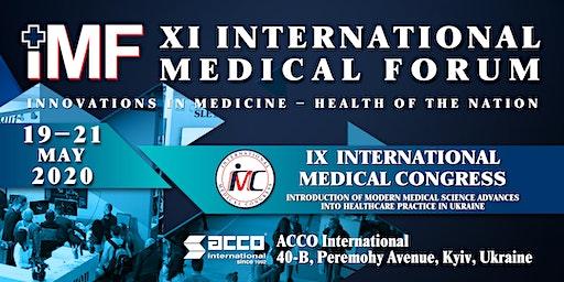 XІ International Medical Forum «Medicine Innovations – the Nation's healt