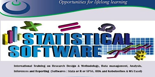 Training; Research Design Data management, Analysis Inferences & Reporting