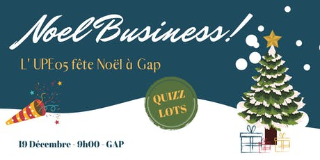 Gap | Noël Business de l'UPE 05 billets