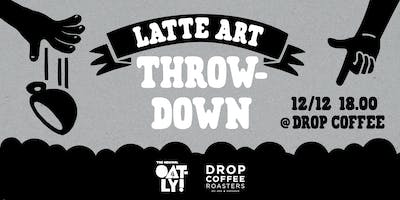 Latte Art Throwdown - Drop Coffee