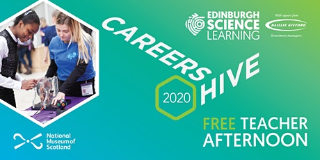 Teacher Afternoon at Careers Hive 2020 tickets