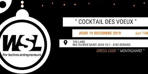 Jeudi 19 décembre | Cocktail des voeux WSL @The Labs