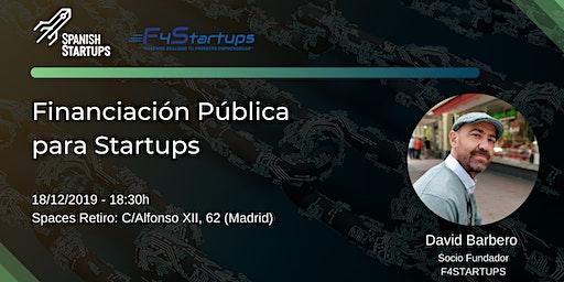 Financiación pública para Startups