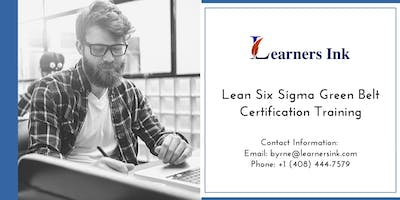 Lean Six Sigma Green Belt Certification Training Course (LSSGB) in Chicago