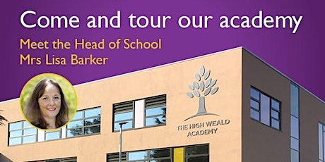 The High Weald Academy Guided Tour tickets