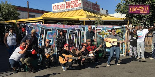 SKID ROW BLOCK PARTY!! A Day of Music, Food & Art to Benefit the Houseless
