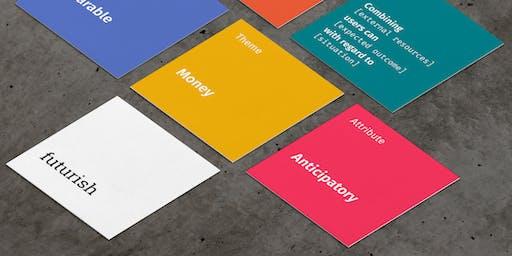 Futurish. A generative card deck workshop.