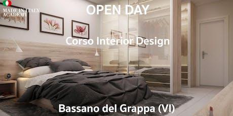 Open Day Interior Design Bassano del Grappa biglietti