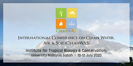 International Conference on Clean Water, Air & Soil (CleanWAS) tickets