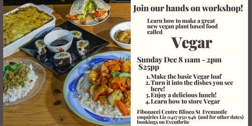 Vegar Plant Based Cooking Workshop