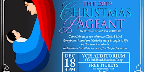 YCIS Christmas Pageant 2019 tickets