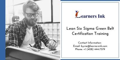 Lean Six Sigma Green Belt Certification Training Course (LSSGB) in Dallas