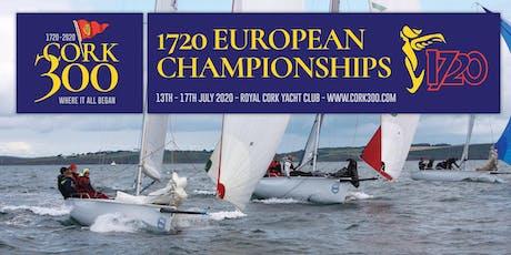 Cork 1720 Europeans 2020 tickets