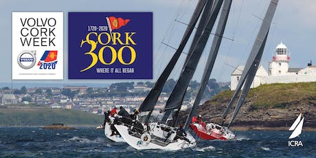 Volvo Cork Week 2020, incorporating the ICRA National Championships tickets