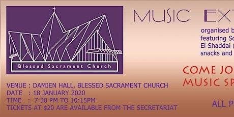 Music Extravaganza 2020 tickets