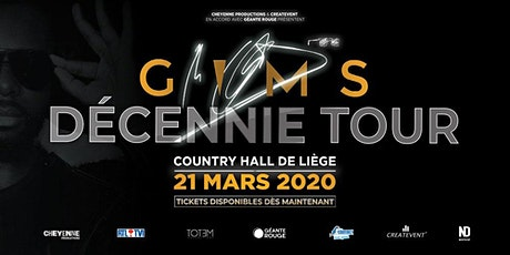 GIMS - Decennie Tour billets