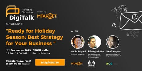 Ready for Holiday Season: Best Strategy for Your Business tickets