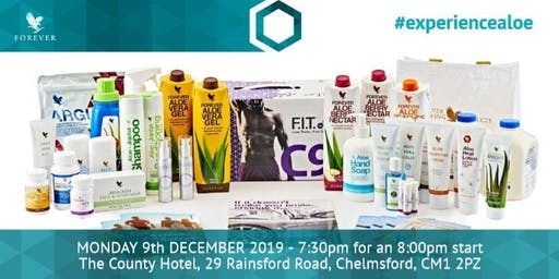 Aloe Experience Evening - December 9th 2019