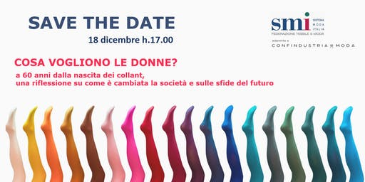 SAVE THE DATE - 18 dicembre