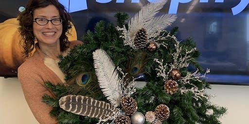 Make a Custom Holiday Wreath in One Hour