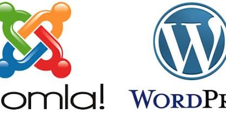 Website Development and Design using Joomla and Word Press  tickets