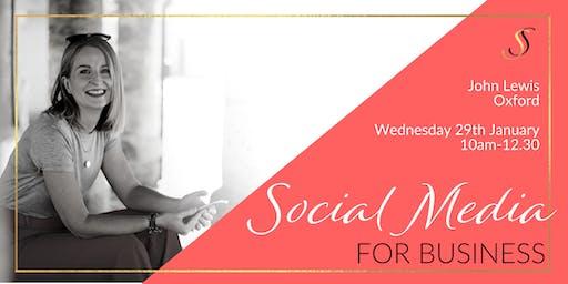 Social Media for Business - John Lewis Oxford