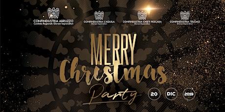 Christmas Party Giovani Imprenditori Confindustria Abruzzo biglietti