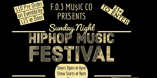 Sunday Night Hiphop Music Festival
