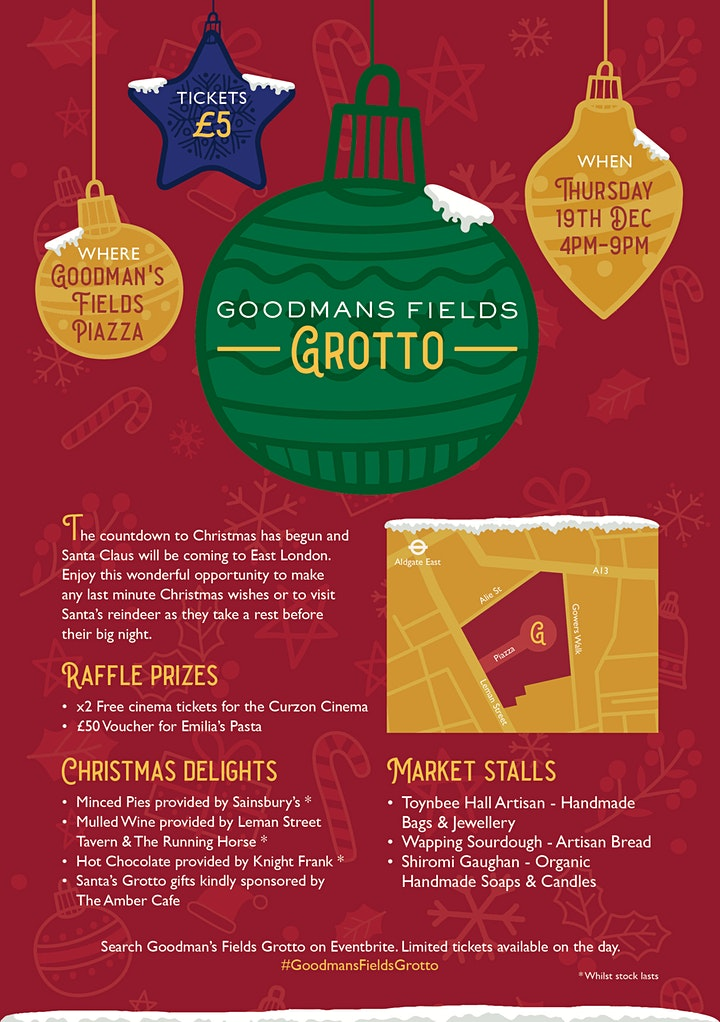 The Goodman's Fields Grotto (Santa's Grotto) image