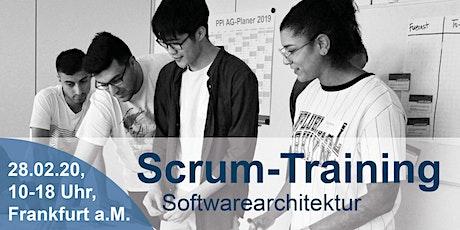 Scrum-Training Softwarearchitektur & Microservices Tickets