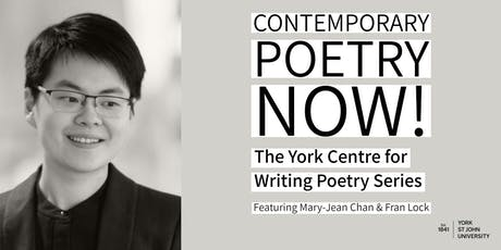 Contemporary Poetry Now! The York Centre for Writing Poetry Series tickets