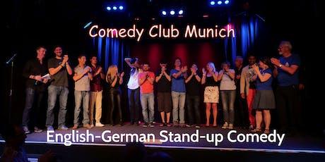 Stand-up Comedy Show - Theater Drehleier  - 21. März 2020 - Comedy Club Munich tickets