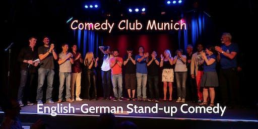 Stand-up Comedy Show - Theater Drehleier  - 21. März 2020 - Comedy Club Munich
