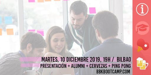 Info Day BBK Bootcamp ¡Últimas plazas, convocatoria enero '20!