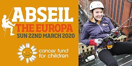 Abseil the Europa 2020 tickets