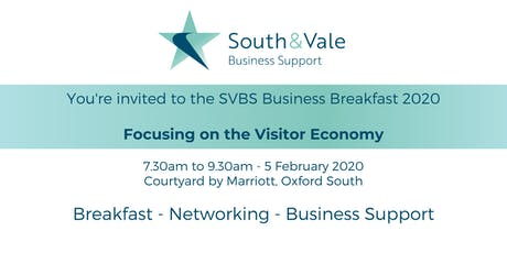 South and Vale Business Support - Business Breakfast 2020 tickets
