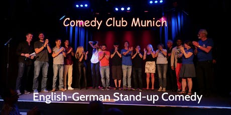 Stand-up Comedy Show - Theater Drehleier  - 9. Mai 2020 - Comedy Club Munich tickets
