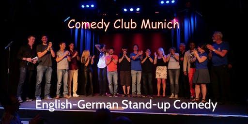Stand-up Comedy Show - Theater Drehleier  - 9. Mai 2020 - Comedy Club Munich
