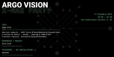 ARGO Vision X-Mas Party