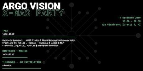 ARGO Vision X-Mas Party  biglietti