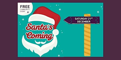 Santa's Coming to Waratah!