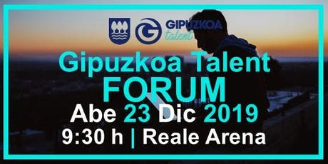 Gipuzkoa Talent Forum entradas