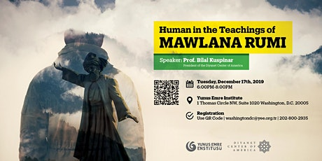 Human in the Teaching of Mawlana Rumi tickets
