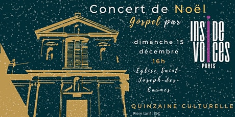 CONCERT DE NOËL - CHORALE DE GOSPEL INSIDE VOICES billets