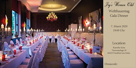 Joy's Women Club Gala Dinner in der Kameha Suite zum Weltfrauentag Tickets