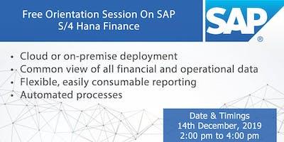 Free Orientation Session on SAP S/4 Hana Finance