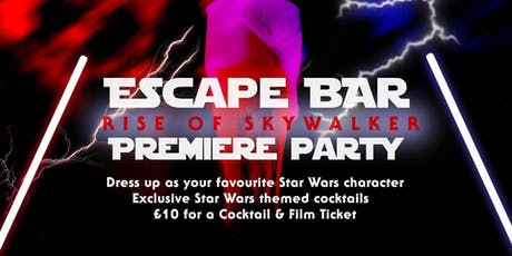 Rise of Skywalker - Midnight viewing Pre-Party tickets